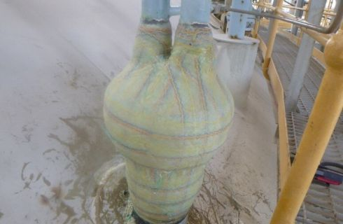 Ammonia Tank Dual Nozzle Repair